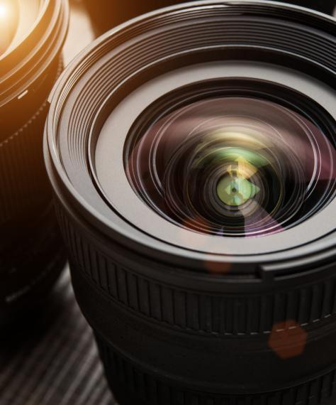 picture of a camera lens