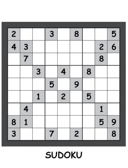 image of a blank sudoku puzzle